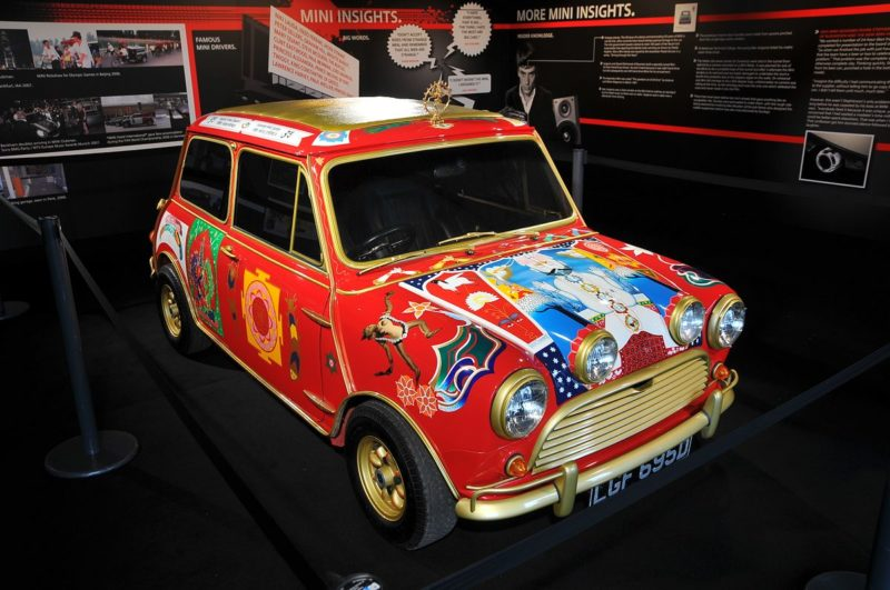 Mini-cooper-george-harrison